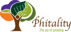 Logo Phitality: The joy of growing
